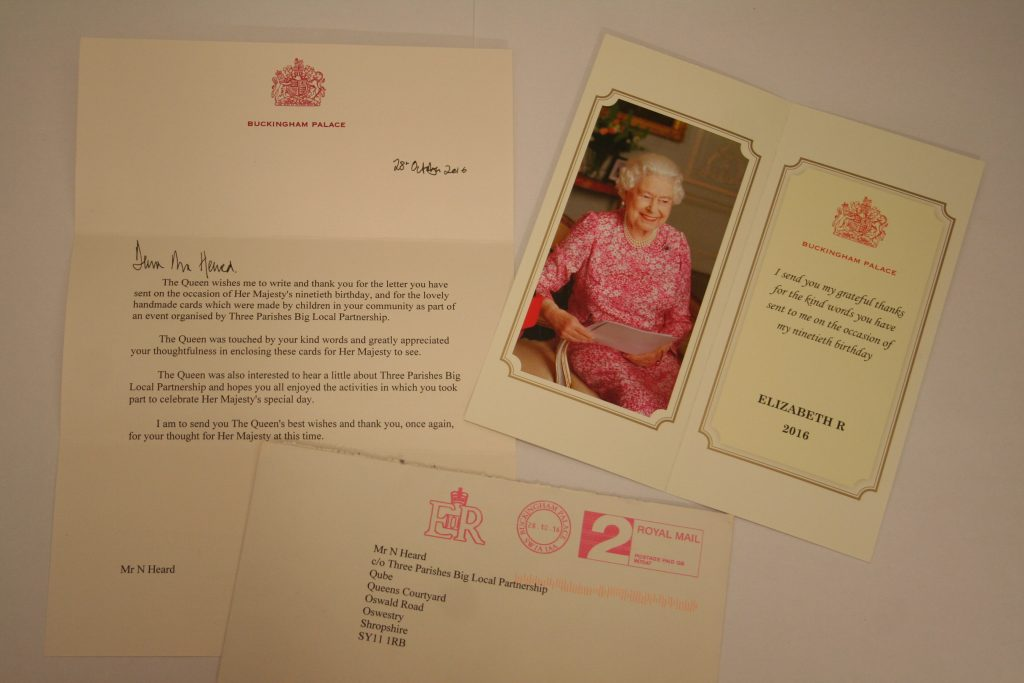90th Birthday card competition for the Queen